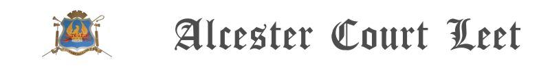 Alcester Court Leet